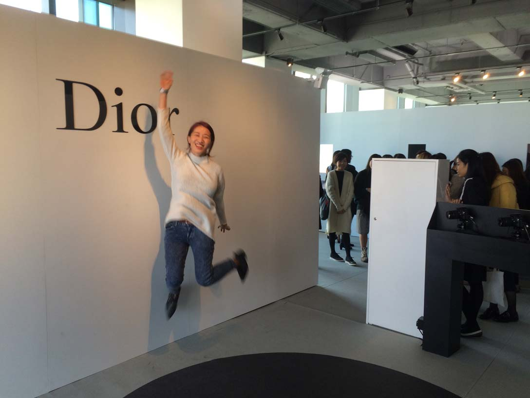 Dior Capture Totale, a one-day event